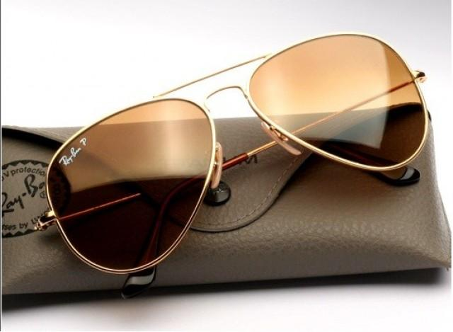 wedding photo - Brad Pitt Ray Ban Aviators Sunglasses