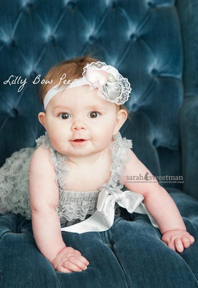 Christmas Outfit Baby Girl Clothes Newborn Clothing Gray