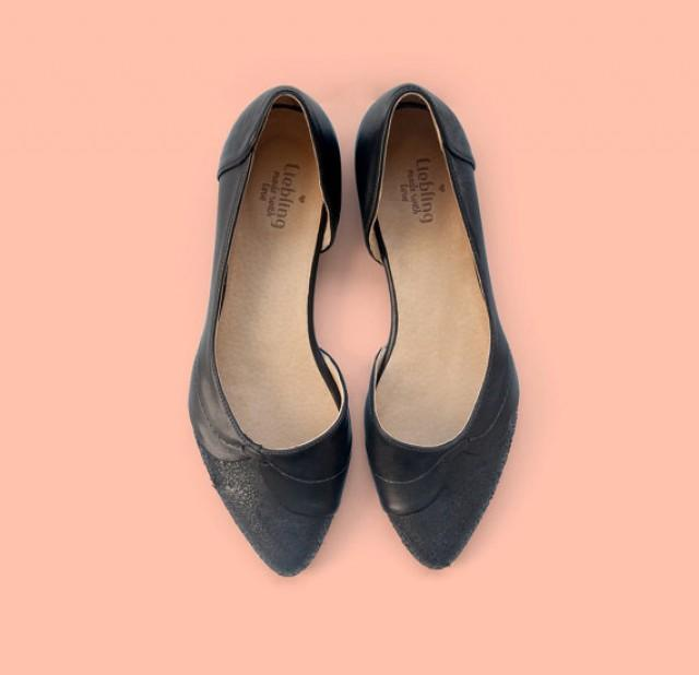 Elegant Womens Shoes Black Flats With Elegant Styles In Canada | Sobatapk.com