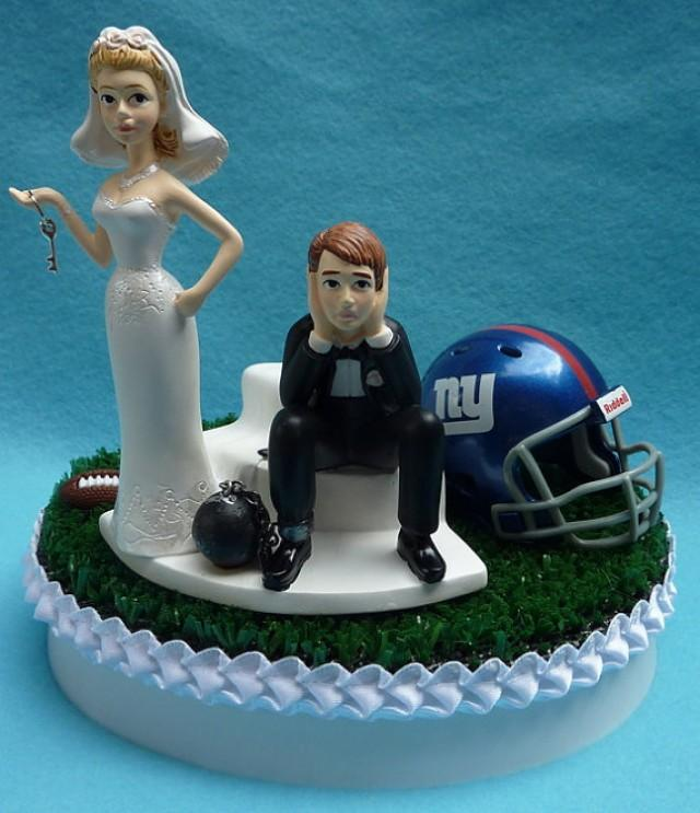 Ny Giants Wedding Cake Topper
