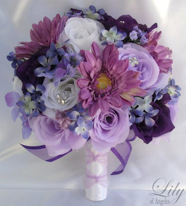 silk flower wedding bouquet silk wedding arrangements artificial