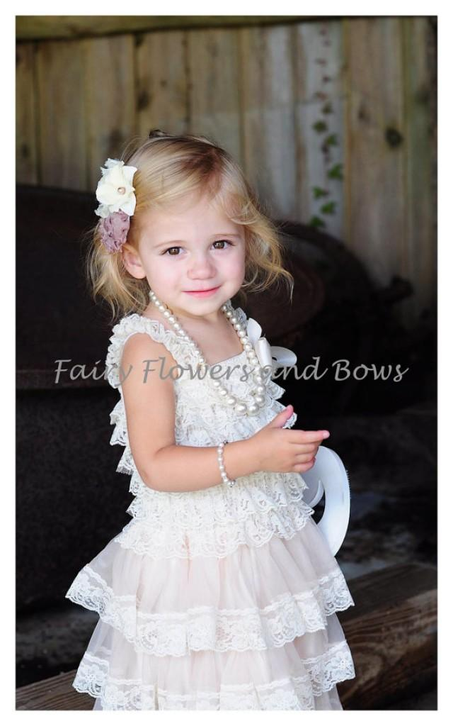 Lace toddler flower girl dresses