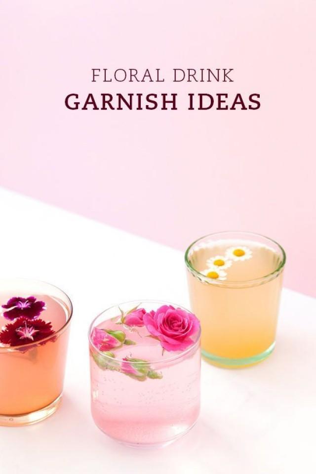 Mariage De Jardin - FLORAL DRINKS #2290542 - Weddbook