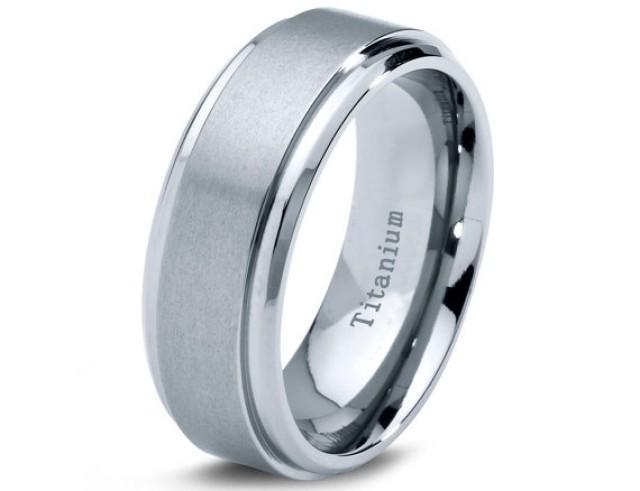 titanium wedding band men titanium rings mens wedding band titanium wedding titanium. Black Bedroom Furniture Sets. Home Design Ideas