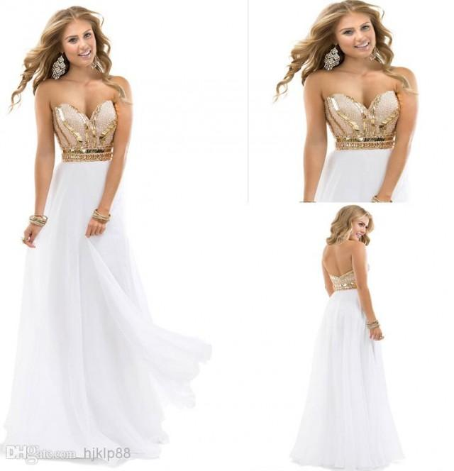 Buy 2014 new arrival prom dresses with sweetheart sequin beadings