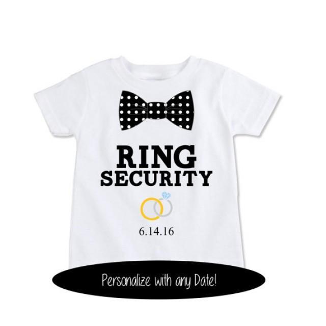 Custom tshirt funny ring bearer gift personalized ring for Custom t shirts personalized gifts