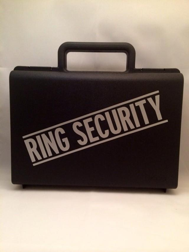 Ring Bearer Briefcase Ring Bearer Gift Ring Security