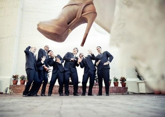 wedding photo - Creative wedding photo!