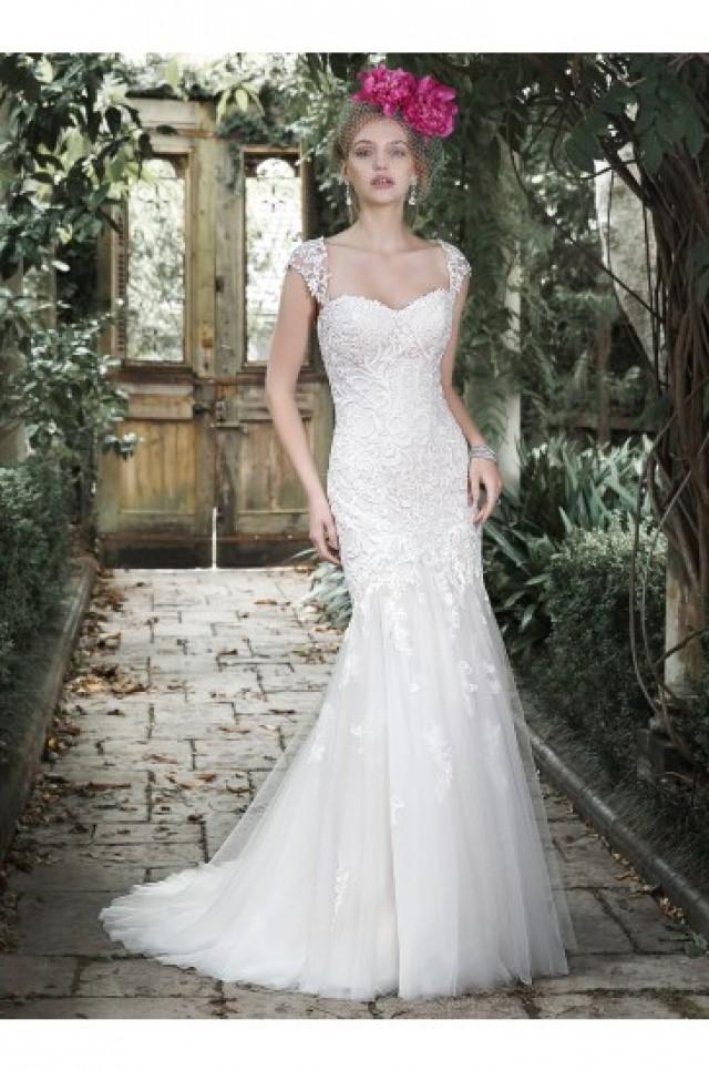 wedding photo - Maggie Sottero Bridal Gown Azura 5MC688