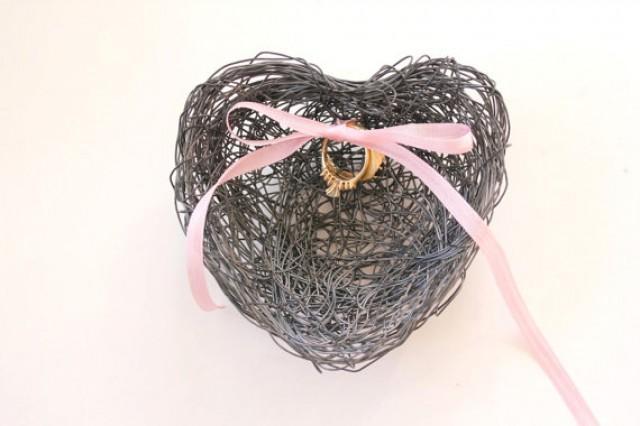 Bird Nest Wedding Ring Holder