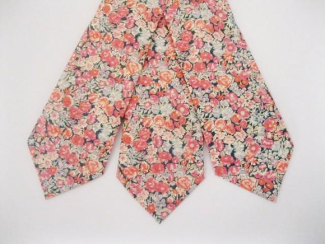 Custom Pink Tie, Liberty Of London Print Tie , YOU CHOOSE ...