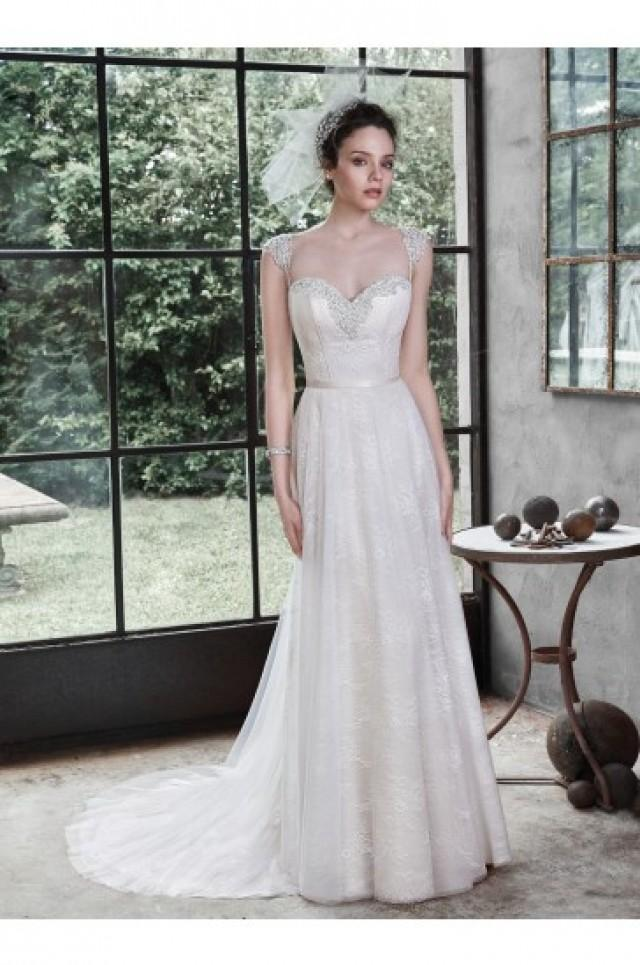 wedding photo - Maggie Sottero Bridal Gown Alanis 5MT674