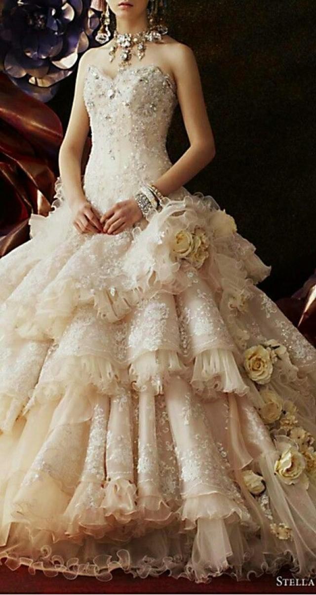 Dress fairytale wedding dresses 2295753 weddbook for Fairy themed wedding dresses