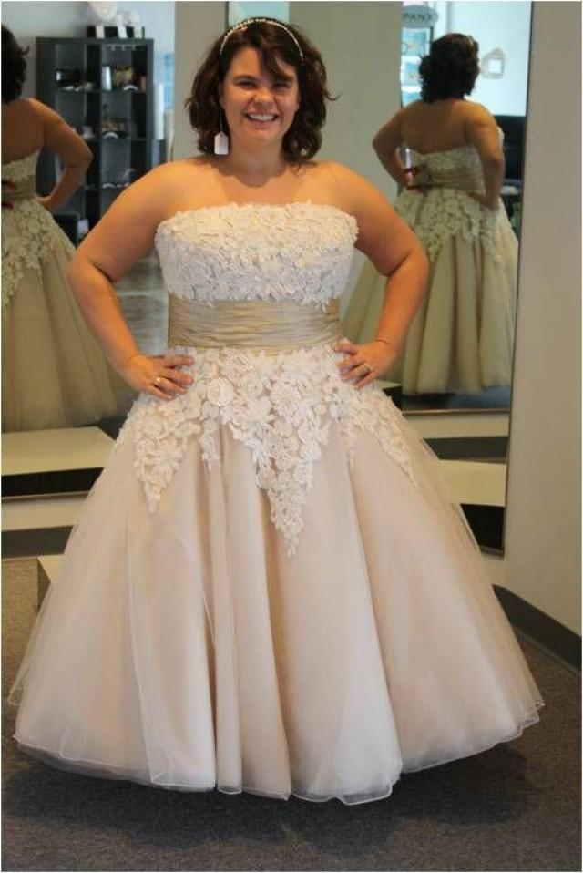 plus size short wedding dresses beach 2015 tea length
