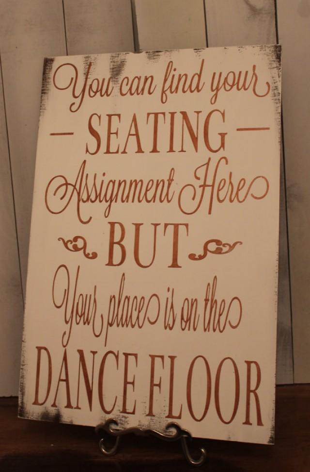 Wedding Signs Reception Tables Seating Plan Seating Assignment Sign Dance Floor 2297170