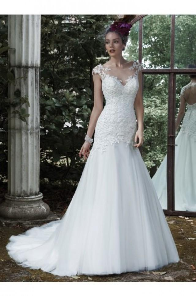 wedding photo - Maggie Sottero Bridal Gown Evianna 5MS673
