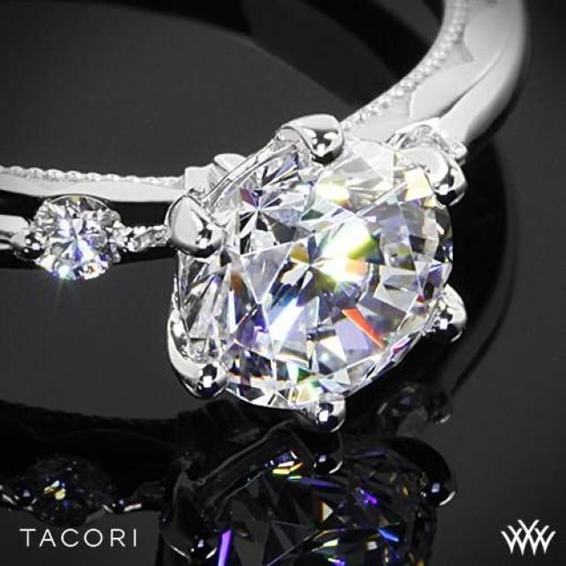 Tacori 32 2 Clean Crescent Diamond Wedding Ring in Rose Gold