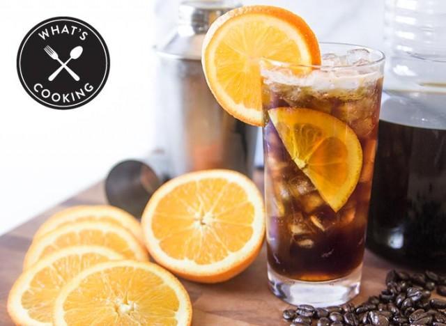 Orange Twist Cold Brew Iced Coffee Drink Recipe What 39 S