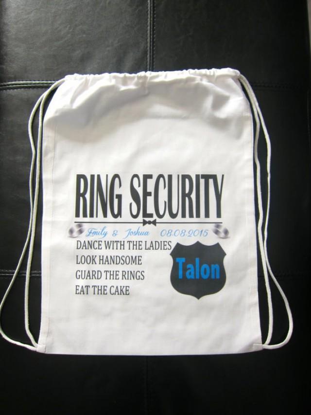 Pinterest Security Ring Bearer