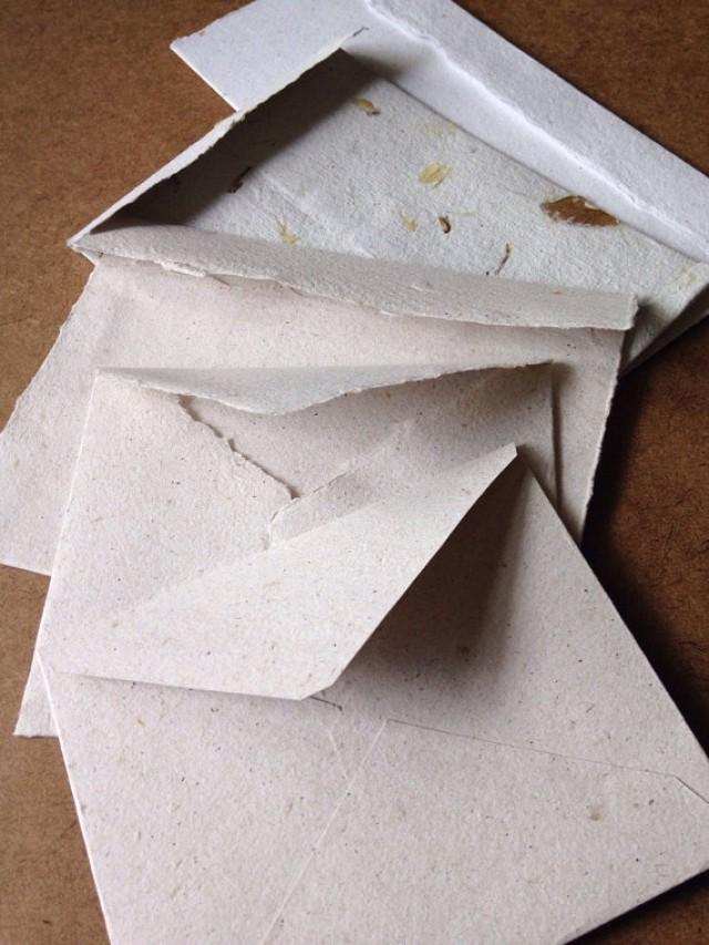 recycled paper envelopes Kraft paper recycled envelope (200 items found) jam paper® monarch envelopes jam paper® #11 policy envelopes, 45 x 1038, brown kraft recycled.