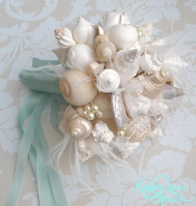Made To Order Custom Details Bridal Bouquet Of Shells Hinewai Clean Style FULL PAYMENT