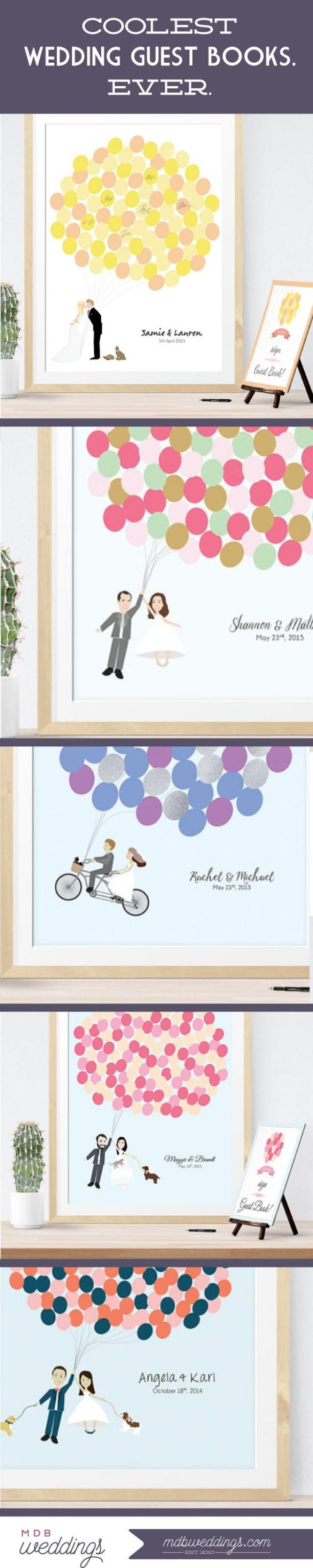 wedding photo - Coolest Guest Books EVER!