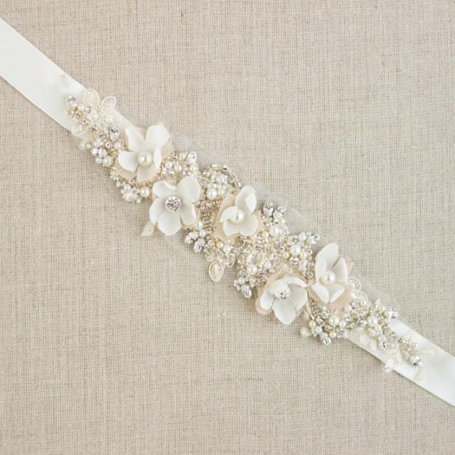 Reserved wedding belt bridal belt wedding dress belts for Wedding dress belt sash