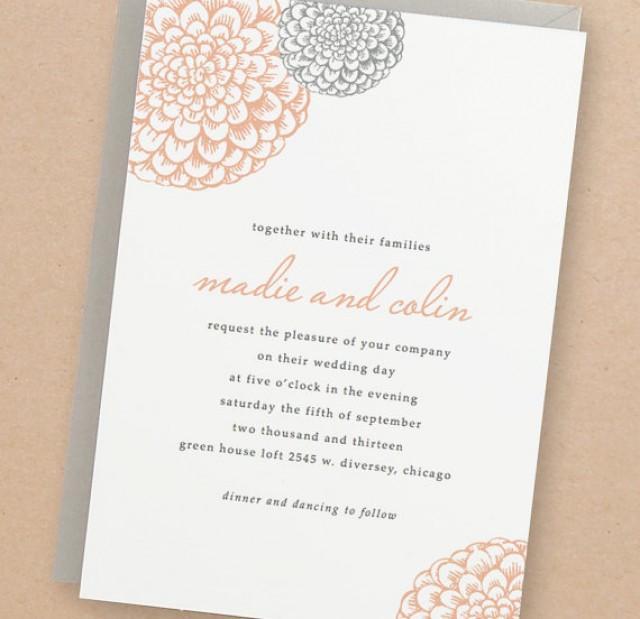 Diy Wedding Invitations Templates: Printable Wedding Invitation Template