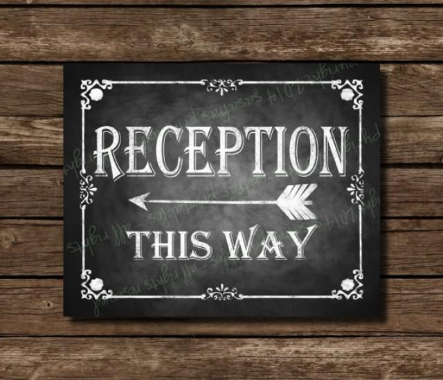 Printable Wedding Sign