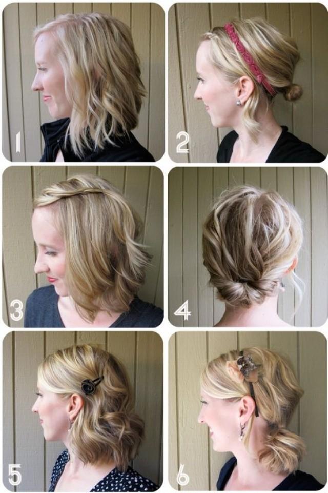 Terrific Ways To Style Shoulder Length Hair Up Short Hair Fashions Short Hairstyles For Black Women Fulllsitofus