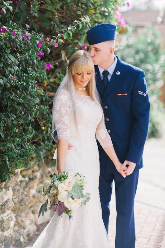 Romantic Military Wedding (Planned In Just 8 Weeks!) - Weddbook