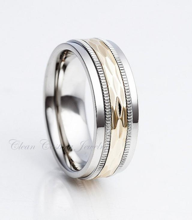 titanium wedding band titanium wedding ring anniversary