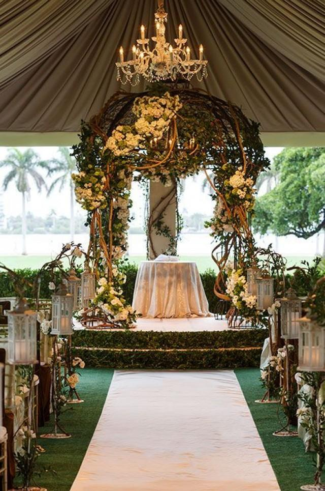 Picture perfect wedding ceremony altar ideas 2305616 for Altar wedding decoration