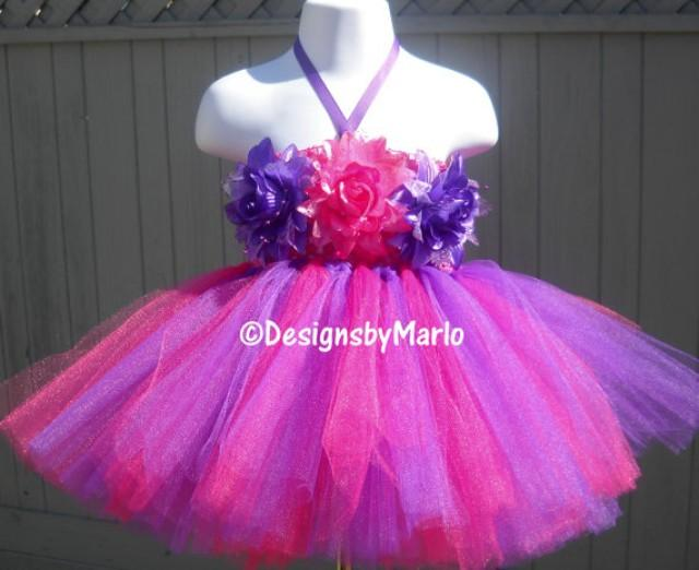Hot Pink Tutu Dress Purple Tutu Dress Hot Pink Dress