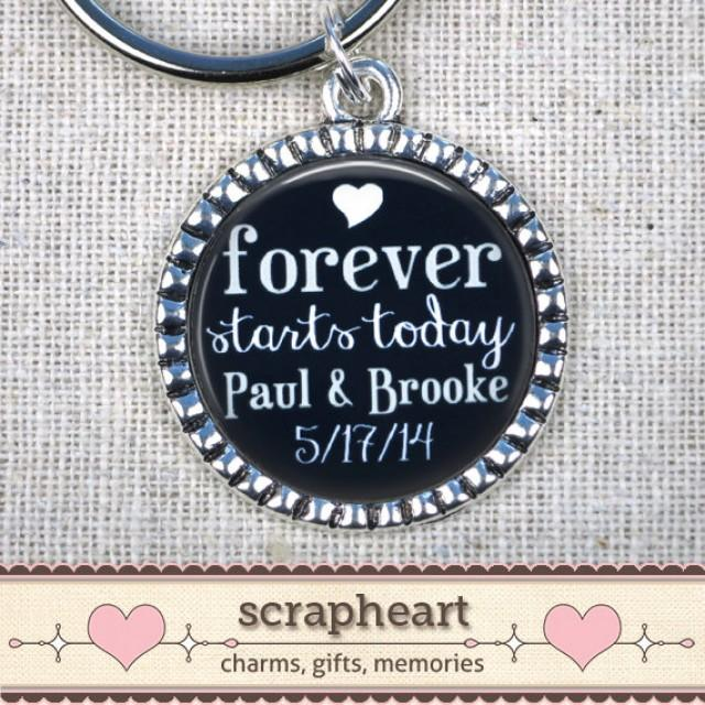 Quotes On Wedding Gift : Wedding Gifts For Groom, PERSONALIZED Custom Quote Keychain, Black ...