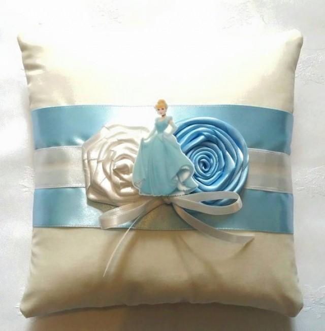 ceremony disney cinderella wedding ring pillow 2306788 weddbook - Cinderella Wedding Ring