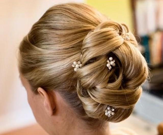 Bridal Hair Pins Set Of 6 Pearl Rhinestone Hairpins Hairpiece Accessory Wedding Bridesmaid 2306853 Weddbook