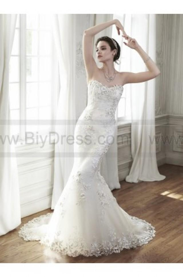 Maggie Sottero Bridal Gown Chante 5MD122