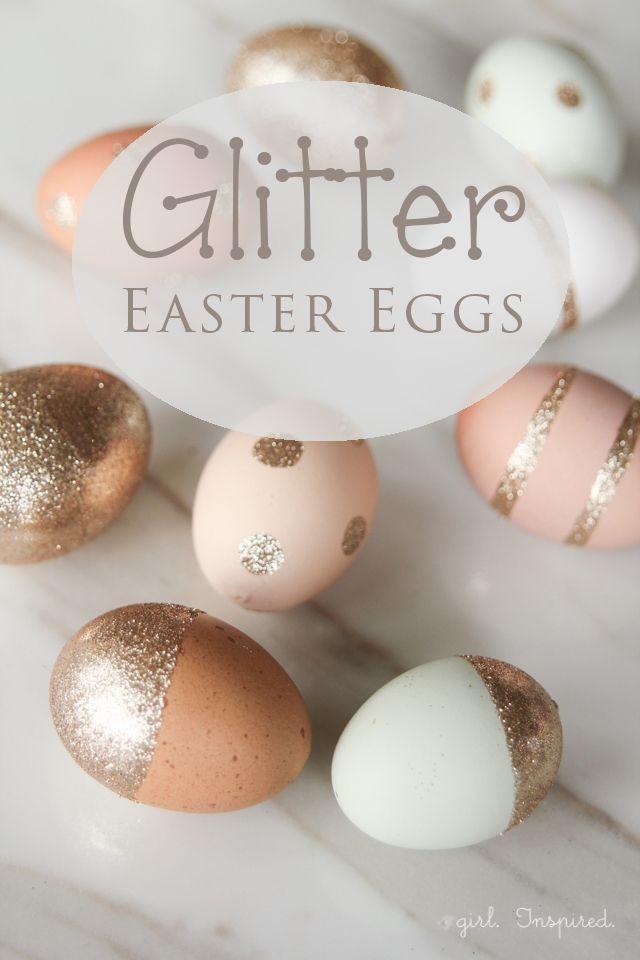 Hochzeits-Thema - Glitter Easter Eggs #2308020 - Weddbook
