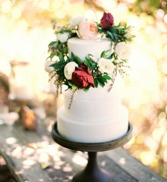 wedding photo - Beautiful wedding cake!