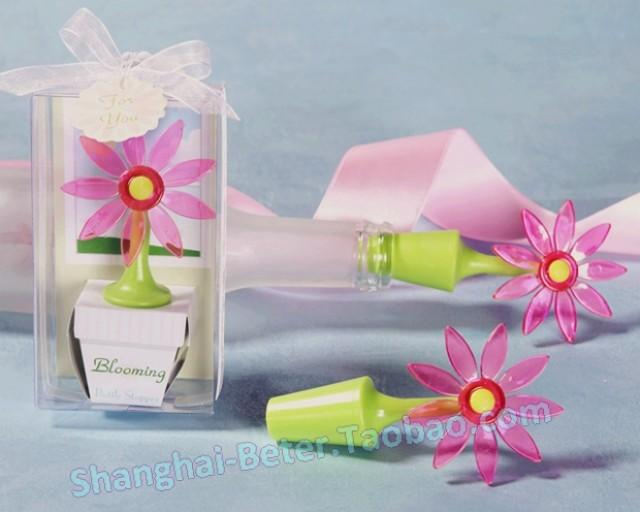 wedding photo - Flower Bottle Stopper novelty wedding decoration soap bubble wedding favors and gifts ZH012 from Reliable gift china suppliers on Shanghai Beter Gifts Co., Ltd.