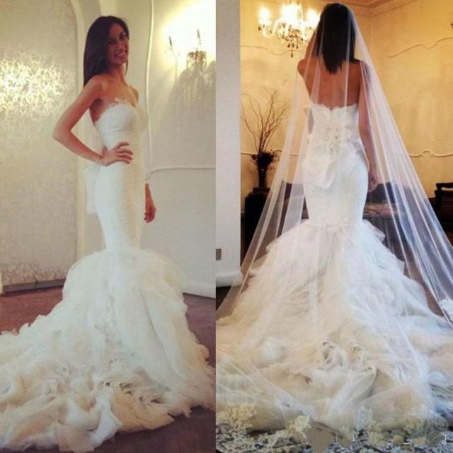 Mermaid Wedding Dresses 2015 Maison Yeya Sweetheart