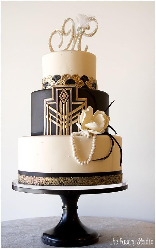 Art Deco Roll Cake : Art Deco/Gatsby 1920s Wedding Inspiration #2316414 - Weddbook