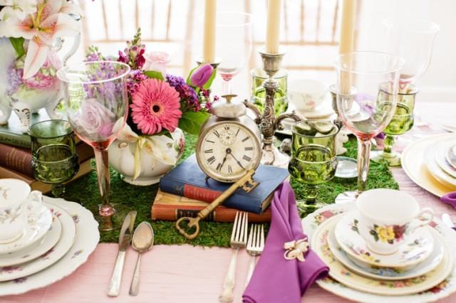 Mon mariage alice au pays des merveilles weddbook - Decoration alice aux pays des merveilles ...