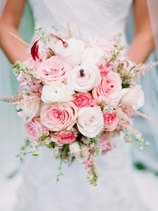 wedding photo - Beautiful pink bouquet!