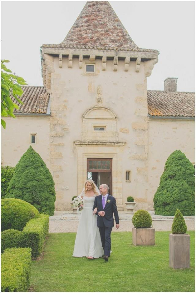 wedding photo - Real Wedding Film in Dordogne France