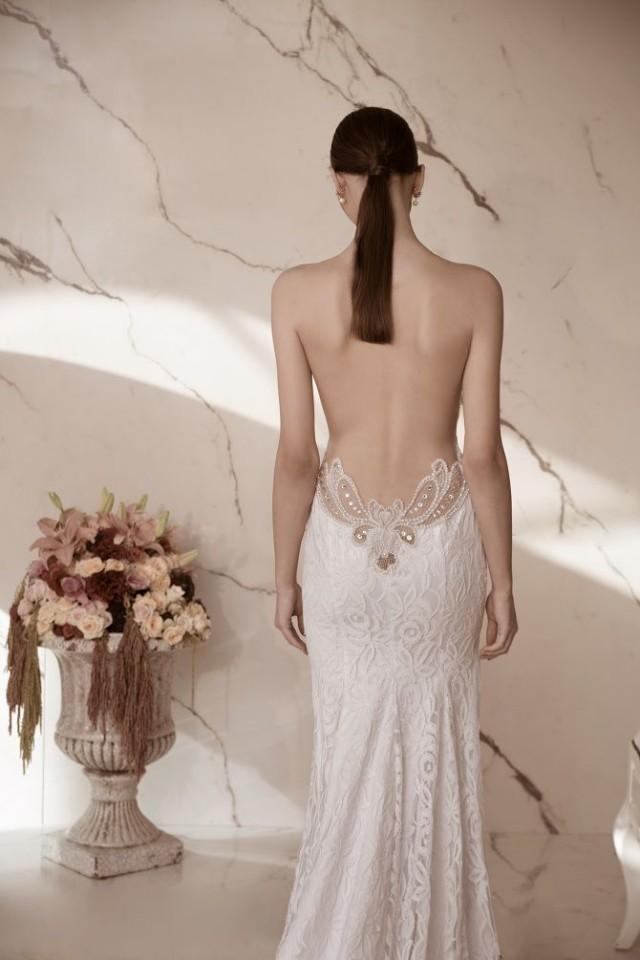 Dress backless wedding gowns 2320081 weddbook for Backless wedding dress bra