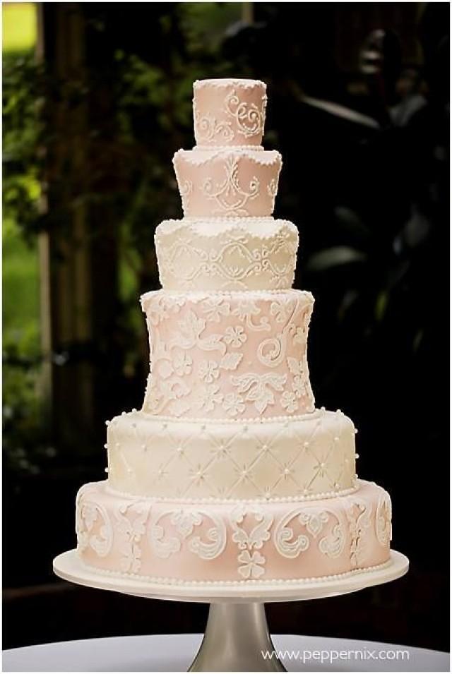 Plain Wedding Cake Tiers