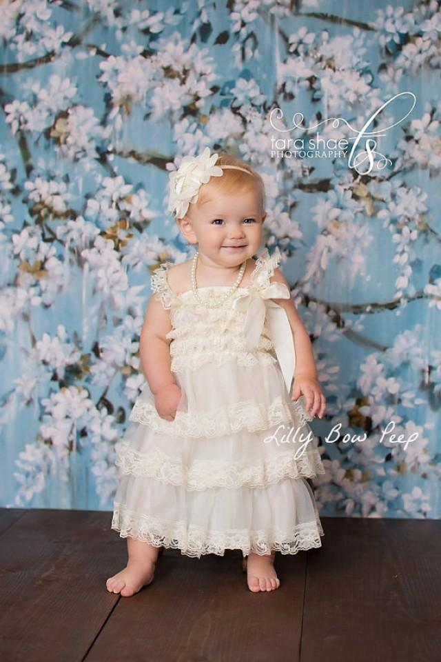 Shop our latest collection of Baby Flower Girl Dresses and get the perfect garment for your little one! You'll find designer & brand pieces for , 6, 18, 24 months babies & up, in a huge variety of styles, materials, and colors.