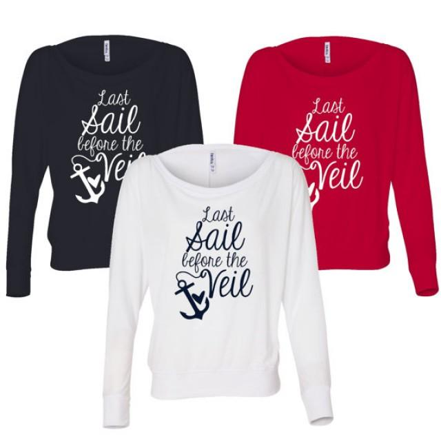 4 Last Sail Before The Veil Long Sleeve T Shirt Off